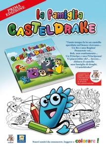 E' in vendita il primo libro dei Draghi: 'La famiglia Castel Drake'